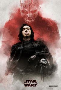 TLJ Snoke and Kylo Ren Poster
