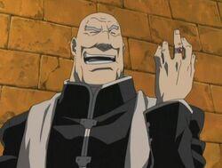 Arrogant Father Cornello