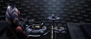 Chancellor Palpatine Ahsoka view