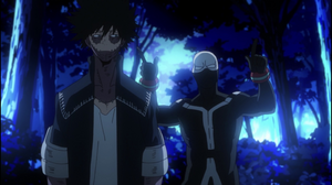 Dabi and Twice head back to the rendezvous point