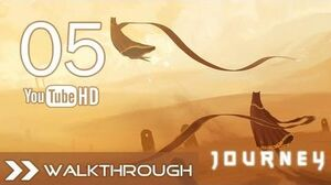 Journey Walkthrough - Gameplay Part 5 (The Tunnels) HD 1080p PS3 PSN No Commentary