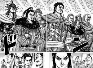 The Generals of Qin Assemble