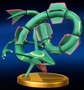 Trophée Rayquaza WiiU
