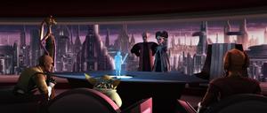 Chancellor Palpatine Jedi senators