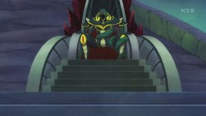 STPC44 Darknest sitting on his throne
