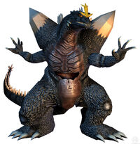 SpaceGodzilla in Godzilla: Unleashed.