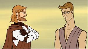 Anakin Skywalker Kenobi lecturing
