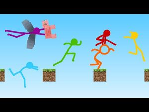 Parkour - Animation vs. Minecraft Shorts Ep