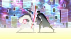 Urashiki's battles Sasuke