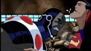 Darkseid vs Superman DCAU 02