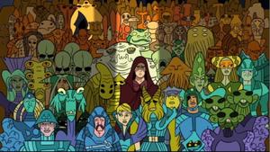 Skywalker Corsucant crowd