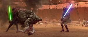 Anakin Skywalker thrown-down