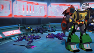 Cyclonus' Team's Defeat