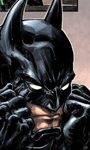Damien Wayne as Batman Injustice vs MOTU