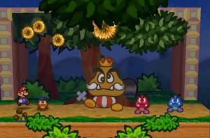 Goomba King Battle