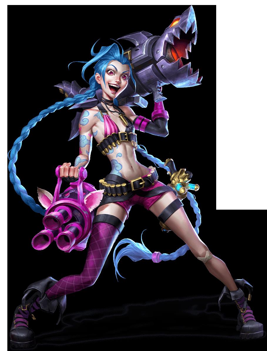 Jinx (League of Legends)   Villains Wiki   Fandom