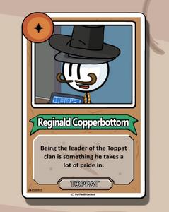 Reginald's bio CtM