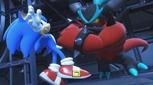 Sonic Forces Zavok Boss Fight 1