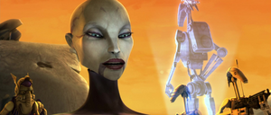 Ventress most pleased