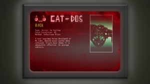 CAT-DOS Specimen 3
