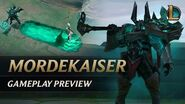 Mordekaiser Gameplay Preview League of Legends