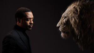 Scar and Chiwetel Ejiofor