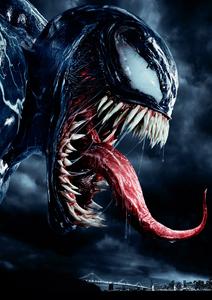 Venom Textless Japanese Poster