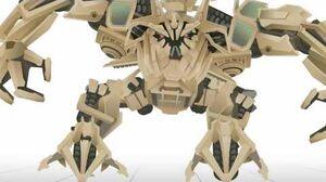 BONECRUSHER Transform - Short Flash Transformers Series