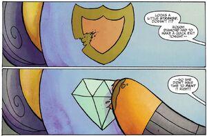 Babs reveal Rough Diamond's cutie mark