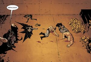 Batman , Bane, Catwoman, Thomas Wayne Flashpoint and Ventriloquist