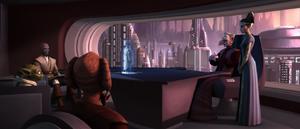 Chancellor Palpatine plans