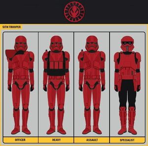 Sith Trooper rank