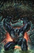 Venom Vol 4 34 Frankie's Comics and Golden Apple Comics Exclusive Virgin Variant
