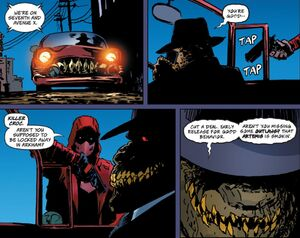 Killer Croc and Red Hood 5