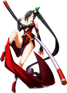 Litchi Faye-Ling (Chronophantasma, Character Select Artwork)