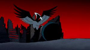 Nega Beast Boy as Woodpecker