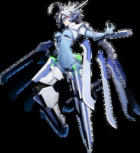 Nu-13 (BlazBlue Cross Tag Battle, Character Select Artwork)
