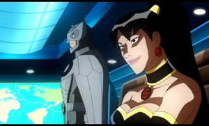 Owlman and Superwoman