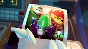 Picture of Ratchet, Clank, Captain Qwark and Dr. Nefarious