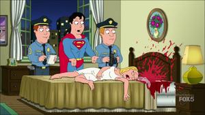 Superman at His Own Crime Scene