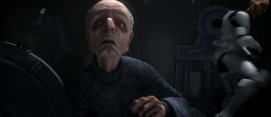 Chancellor Palpatine attacked