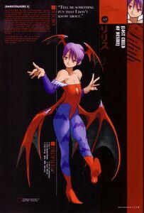 Darkstalkers File Lilith