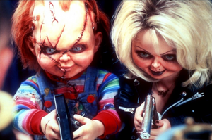 The Evil and Permanent Smiles of Chucky and Tiffany