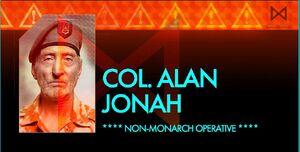 Col Jonah Alan