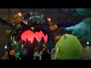Kingdom Hearts 3- Lump of Horror Boss Fight -8