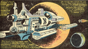 Si-Fan Space Station (Master of Kung Fu Vol 1 50)