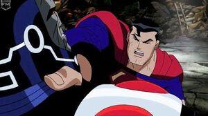 Superman & Batman vs Darkseid Justice league Unlimited