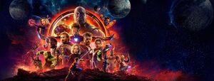 Avengers Infinity War Banner art