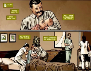 Birth of Terra Titans comic