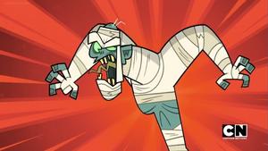 Evil Mummy Roaring
